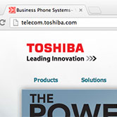 Toshiba Telecom Website