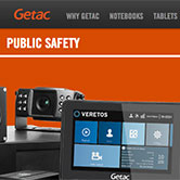 Getac Veretos Website