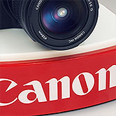 Canon Cameras Display