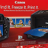 Canon - Walmart Display