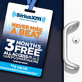 SiriusXM Never Miss A Beat Promo